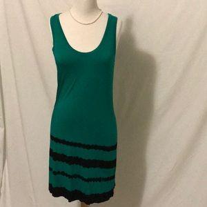 Calvin Klein Green tank dress size 8